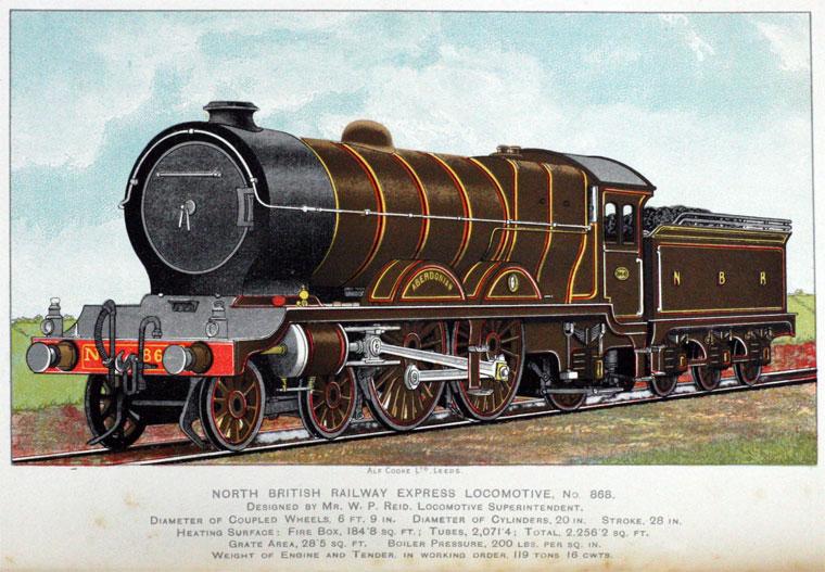 North British Railway Graces Guide